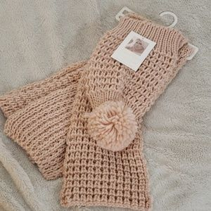 Jessica Simpson Pink Hat and Scarf Set- NWT